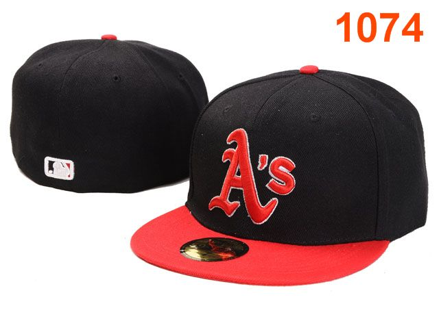Okaland Athletics MLB Fitted Hat PT01